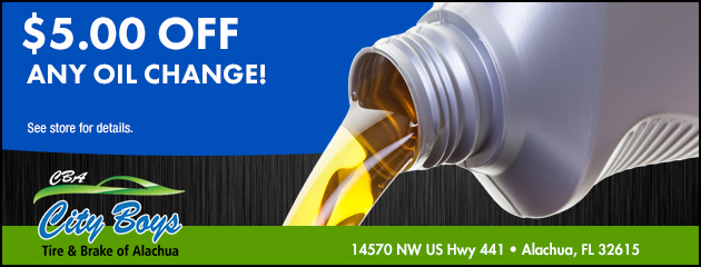 $5.00 Off any Oil Change!
