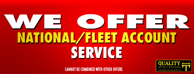 National/Fleet Account Service