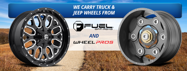 We Carry Truck & Jeep Wheels From Fuel and Wheel Pros