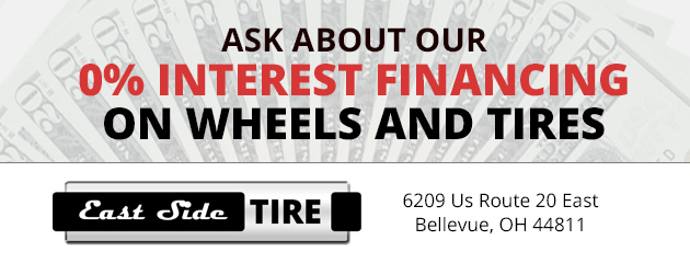 0% interest financing on wheels and tires