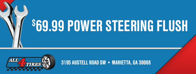 $69.99 Power Steering Flush