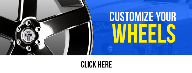 Customize your Wheels  Click here!