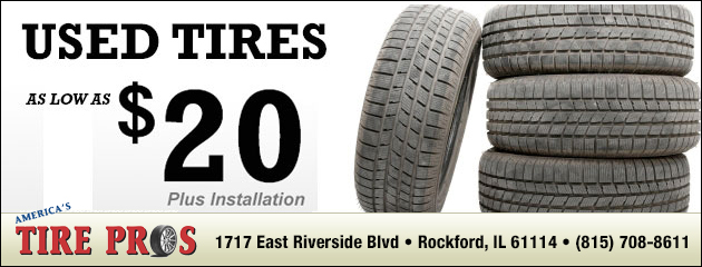 Used Tires Special - $20