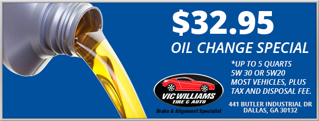 $32.95 OIL CHANGE SPECIAL