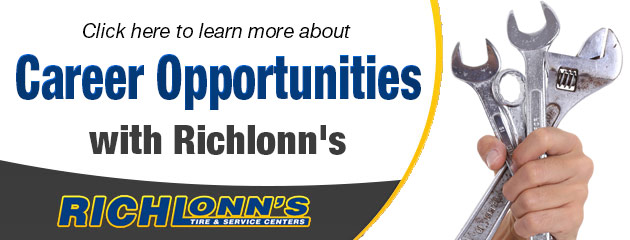 Click here to learn more about Career Opportunities with Richlonn's