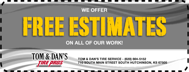 We offer free estimates on all of our work!
