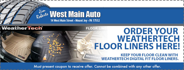 Order your Weathertech floor liners here!