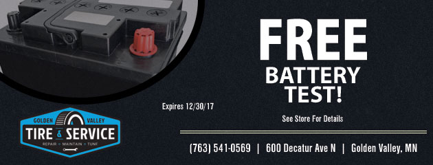 Free Battery Test!