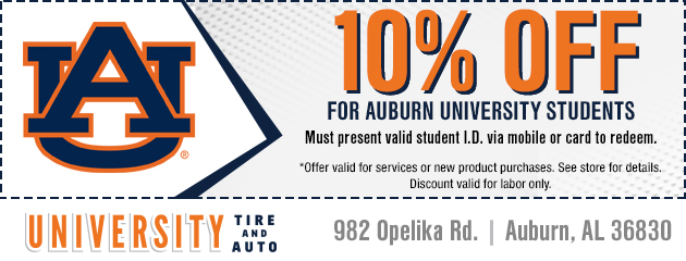 10% Off Student Discount