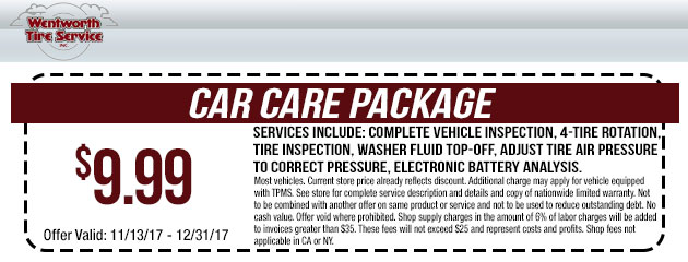 $9.99 Car Care Package