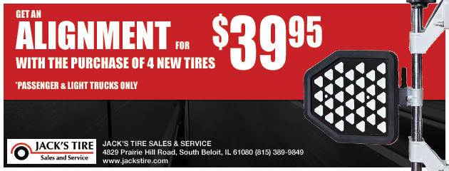 Alignment for ONLY $39.95