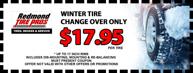 Winter Tire Change Over Special
