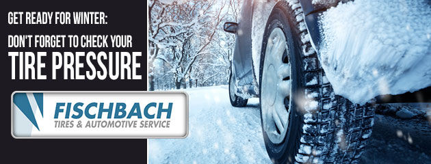 Great ready for Winter: Don't forget to Check Your Tire Pressure