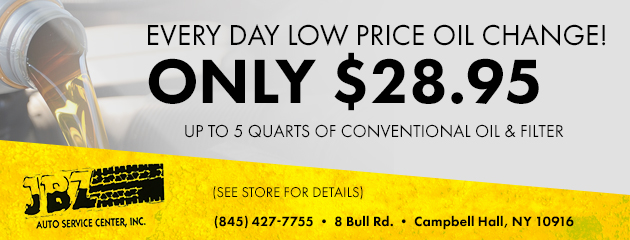 Every Day Low Price Oil Change!