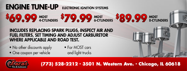 Engine Tune-Up - Electronic ignition systems