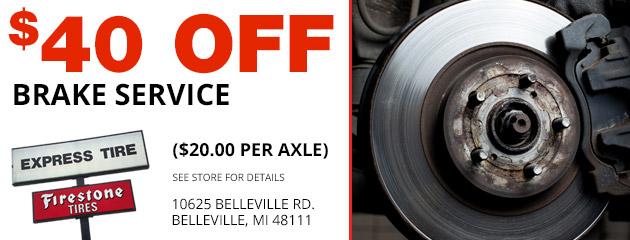 Belleville Mi Auto Repair Tires Shop Express Tire