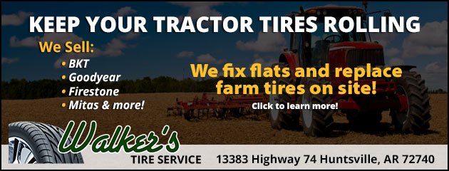 We offer farm tires!