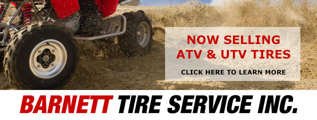 Now selling ATV, UTV Tires