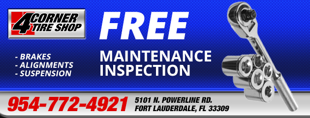 Free Maintenance Inspection