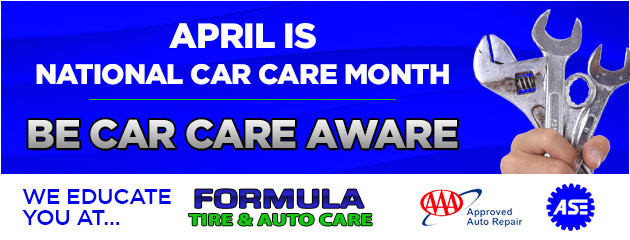 April is National Car Care Month  Be Car Care Aware