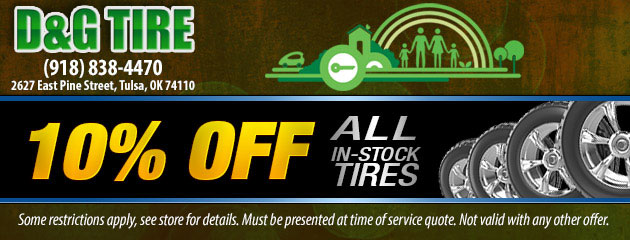10% Off All In-Stock Tires