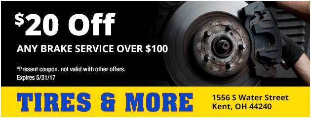 $20 Off Brake Service Over $100 Special