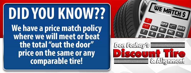 Don Foshay S Discount Tire Alignment Tires Auto Repair Maine