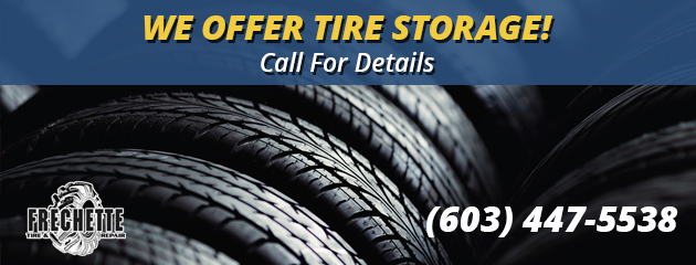 We offer tire storage