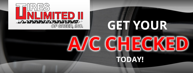 Get your A/C checked today!