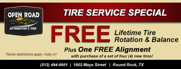 Tire Service Special