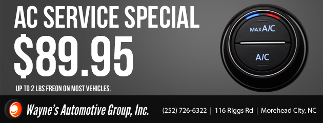 AC Service Special $89.95