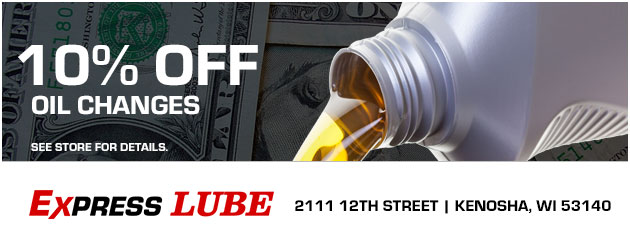 10% Off Oil Changes