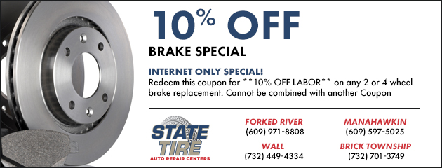10% Off Brake Special