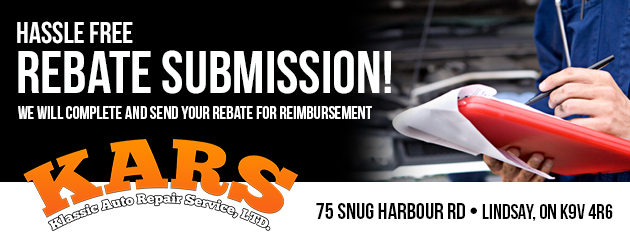 Hassle free rebate submission!