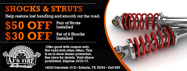 SHOCKS & STRUTS SAVINGS