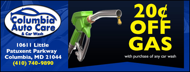 20 Cents off gas with purchase of any car wash