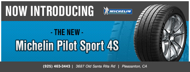 New Michelin Pilot Sport 4S