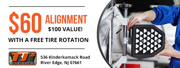 $60 alignment with a free tire rotation