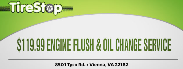 $119.99 Engine Flush & Oil Change Service