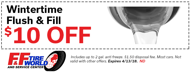 $10 Off WINTER TIME FLUSH & FILL