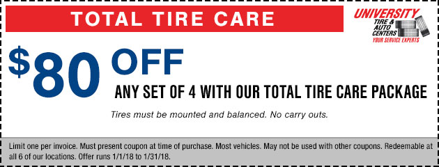 Save Big Tire Special