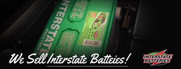 We Sell Interstate Batteries!