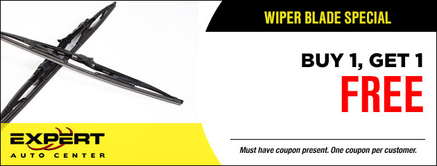 Wiper Blade Special - Buy 1 get one Free