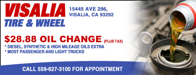 $28.88 Oil Change Special