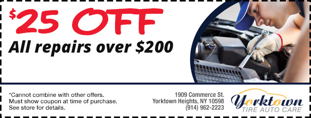 $25.00 Off All repairs over $200.00
