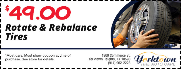 Rotate and Rebalance Tires $49.00