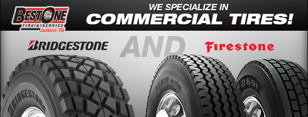 We Specialize in Commercial Tires!