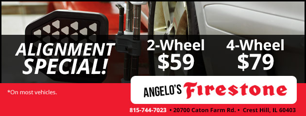 Tires Coupons Joliet Il Romeoville Il Crest Hill Il Angelo S