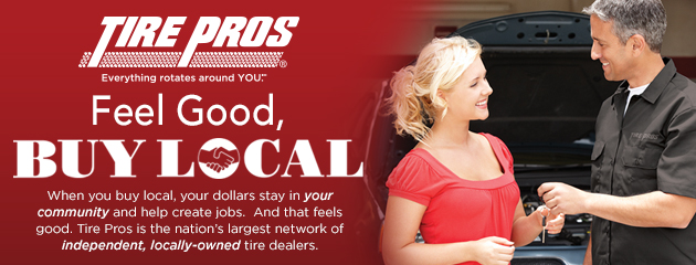 Tire Pros - Buy Local