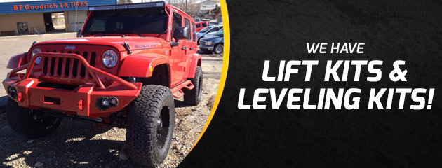 Treadworks® Lift and Leveling Kits